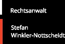 Rechtsanwalt Stefan Winkler-Nottscheidt